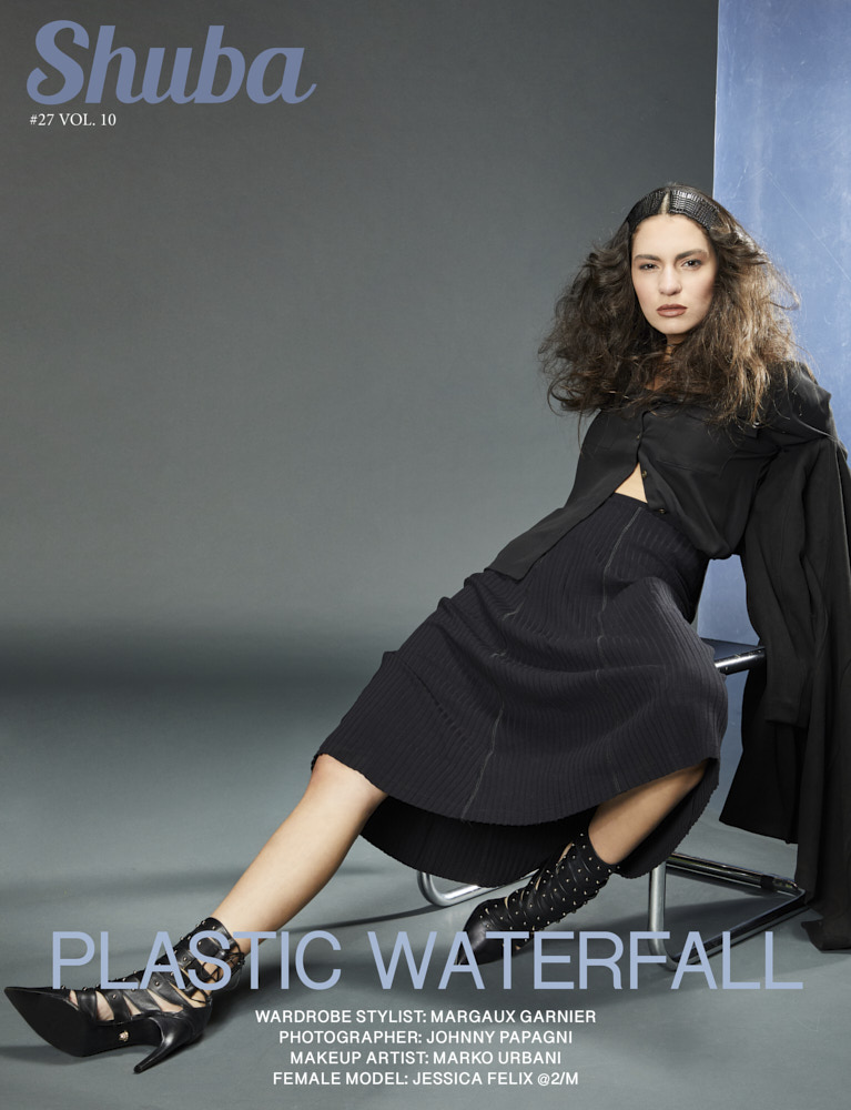 Plastic Waterfall - Cover
