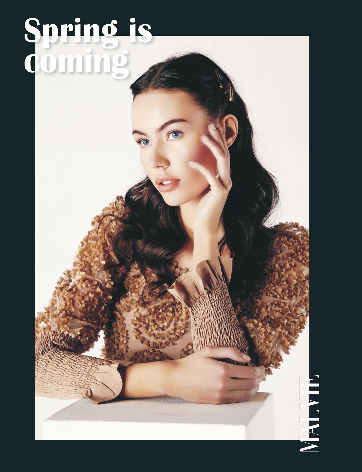 Spring is coming - Editoriale per Malvie Magazine