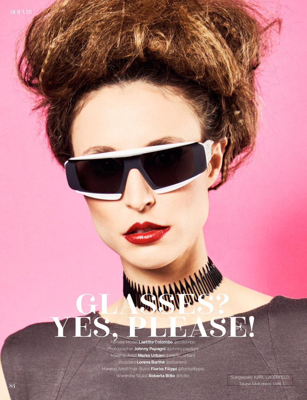 Editorial: Glasses? Yes but with style!